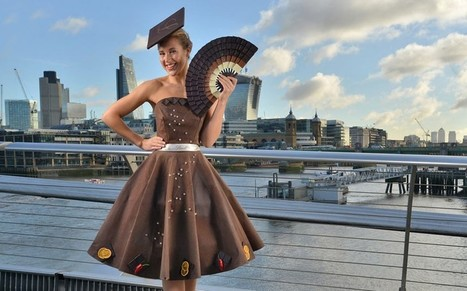 British designer creates dress made of chocolate | No Such Thing As The News | Scoop.it