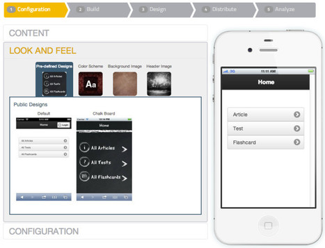 Create Your Own Education App in Minutes With Cleverlize - Beta | iPadagogy and all things Mobile | Scoop.it