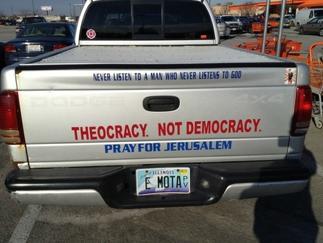 Theocracy, not democracy. | The Atheism News Magazine | Scoop.it