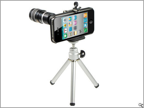 RCP-Technik releases Rollei 8x zoom lens for iPhone 4 | Photography Gear News | Scoop.it