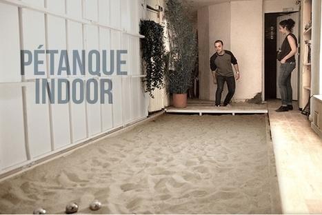 Le bar avec pétanque indoor - Nuit - Merci Alfred | Hôtellerie-Tourisme | Scoop.it