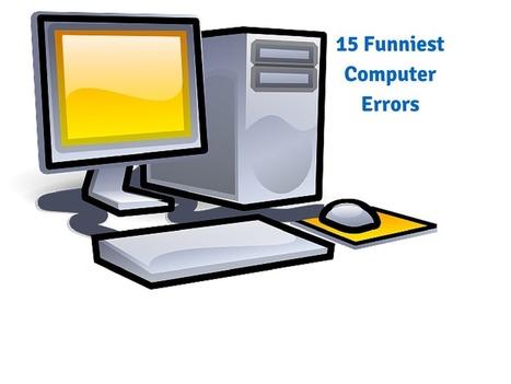 15 Funniest Computer Errors - PC Error Repair Solutions n Guide   Fix Windows Error   Scoop.it