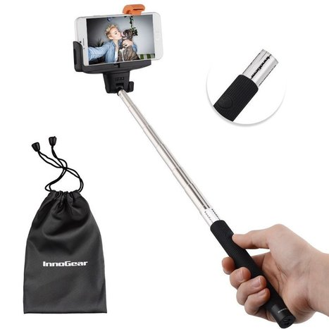 Best Amazon Selfie Stick For Point And Shoot Arm Extender iPhone With Button And Remote Review 2015 | winter | Scoop.it