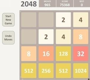 2048 game version for Excel   Excel version   Scoop.it