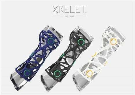 Xkelet wins Red Dot award for custom-fitting 3D printed orthosis that optimizes hygiene and comfort | 3D_Materials journal | Scoop.it