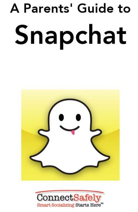 A Parent's Guide to Snapchat - ConnectSafely | Social Media - Education, Guidelines, Empowering Parents | Scoop.it