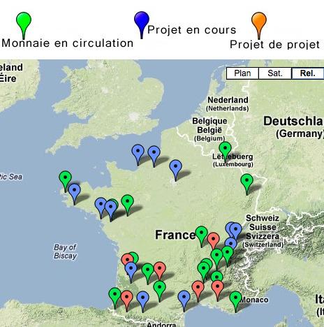 Les monnaies locales en France | Monnaies locales complémentaires (MLC) | Nouvelles Notations, Evaluations, Mesures, Indicateurs, Monnaies | Scoop.it