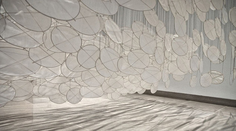 Jacob Hashimoto Installations. | yellowtrace blog » | The Aesthetic Ground | Scoop.it