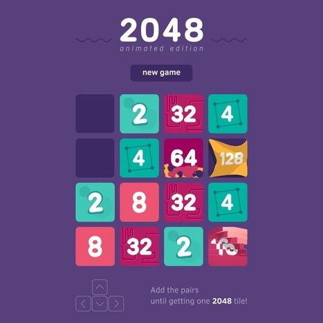 2048 - Animated edition | Culture G | Scoop.it
