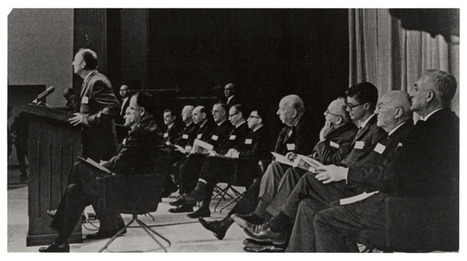 [U.S. Surgeon General Luther Terry addressing press conference at the release of the 1964 Report on Smoking and Health] (1964) | A Cultural History of Advertising | Scoop.it