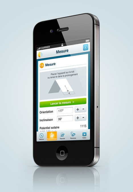 "Application mobile Systovi ""Solar Preview"" 