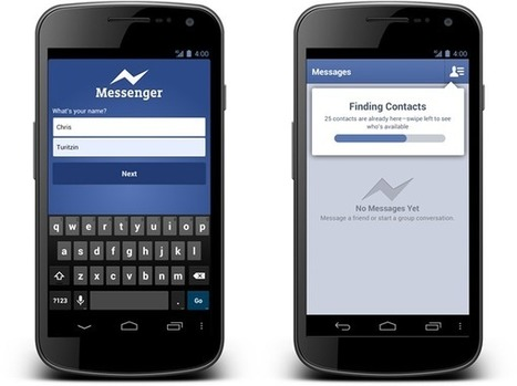 Facebook Messenger sans compte Facebook | Social Infos | Scoop.it