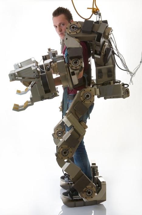 The future of robotics: an Iron Man-like exoskeleton   Robots and Robotics   Scoop.it