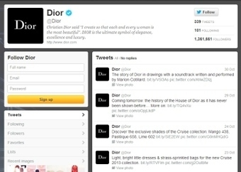 Dior, Burberry go head-to-head in social domination: report - Luxury Daily - Internet | Digital Fashion Marketing | Scoop.it
