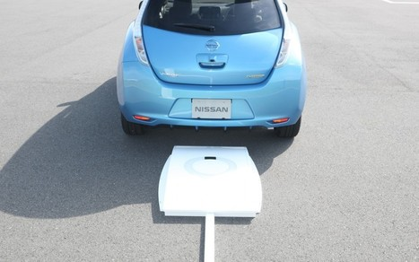 Electric Vehicle Wireless Charging is Here | Automotive Technology | Scoop.it