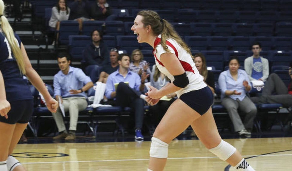 VB | Perseverance Pays Off In Five-Set Win For Gaels | WCC Weekend Updates | Scoop.it