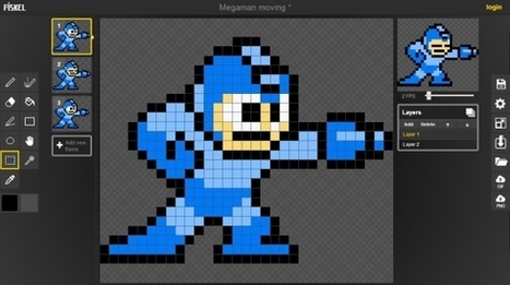 Piskel - Free online sprite editor | Linguagem Virtual | Scoop.it