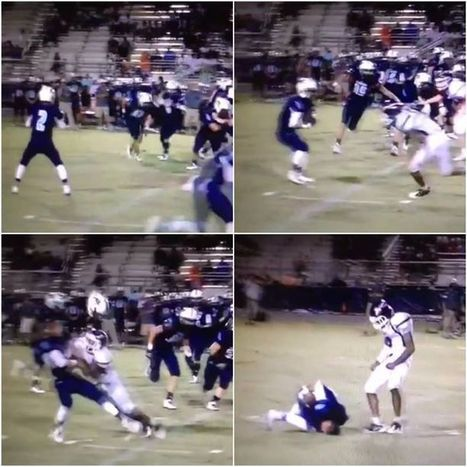 MUST-SEE: Tennessee commit delivers Jadeveon Clowney-esque tackle http://on.nfl....   NFL - National Football League   Scoop.it