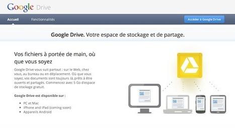 Activez Google Drive sur votre compte dès maintenant! | Outils et  innovations pour mieux trouver, gérer et diffuser l'information | Scoop.it
