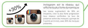 Les marques accélèrent sur Instagram en France | Institut de l'Inbound Marketing | Scoop.it