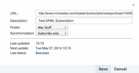 InoReader: dynamic OPML subscription through hosted file | RSS Circus : veille stratégique, intelligence économique, curation, publication, Web 2.0 | Scoop.it