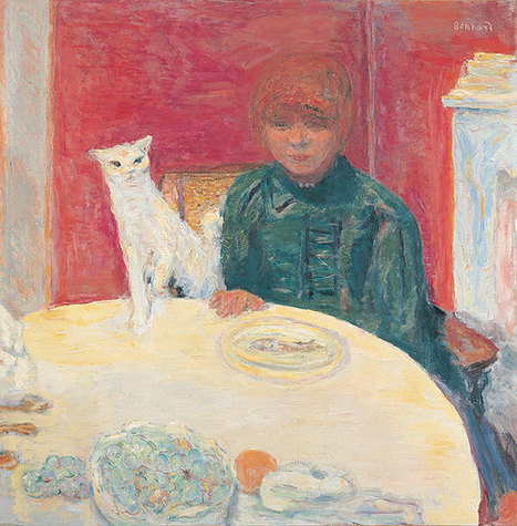 Bonnard: Observing Nature | Woman with Cat [La femme au chat] | CaniCatNews-photos-chats-chiens | Scoop.it