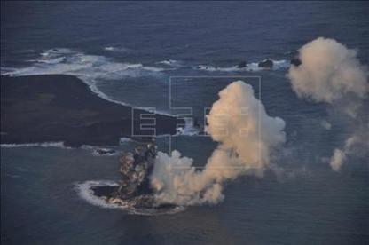26/11 La nueva isla japonesa originada de una erupción volcánica será permanente   asunciononline.com   Scoop.it