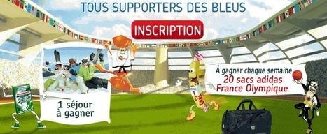 Tous supporters des bleus avec Carambar, Malabar, Hollywood et Krema | Jeux Concours Internet | concours du net | Scoop.it