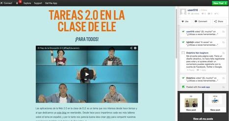 TICs y Tareas 2.0 en la clase de ELE: Crea un vídeo interactivo con HapYak o Popcornmaker | TIC en infantil, primaria , secundaria y bachillerato | Scoop.it