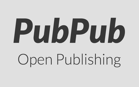 PubPub | Opening up education | Scoop.it