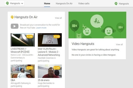 #Hangouts page updated, now displays all your Google+ Hangouts in one place | GooglePlus Expertise | Scoop.it