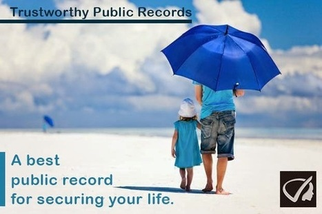 Instant Profiler: Trustworthy Public Records - A Best Public Record For Securing Your Life. | Best people search, criminal and business records search services- InstantProfiler | Scoop.it