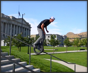 Unicycle Freestyle - The Awesomer | Unicycle | Scoop.it
