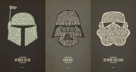 Star Wars Typography Quotes Classic Lines | All Geeks | Scoop.it