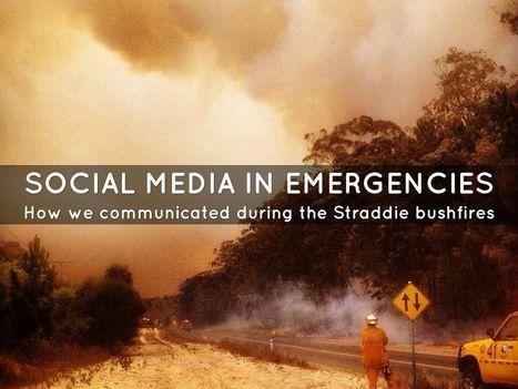 """social media in emergencies"" - A Haiku Deck by Matt Murray | gestion de crise | Scoop.it"