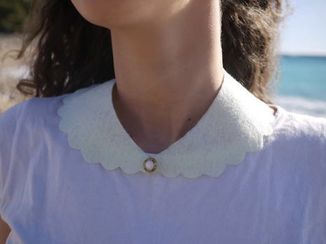 i love do it yourself: Col Claudine... Claudine Collar | Chouettes tutos | Scoop.it