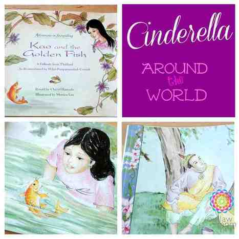 Kao And The Golden Fish: A Cinderella Folktale From Thailand - Summary   Year 2 English: Moral stories from Thailand   Scoop.it