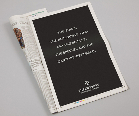 Creative Review - Shrewsbury's new brand campaign | Advertising, Branding, Design | Scoop.it