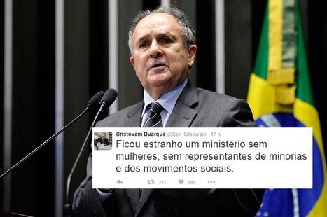 Arrependido? Depois de votar pelo golpe, Cristovam reclama de ministérios de Temer - Portal Fórum | Global politics | Scoop.it