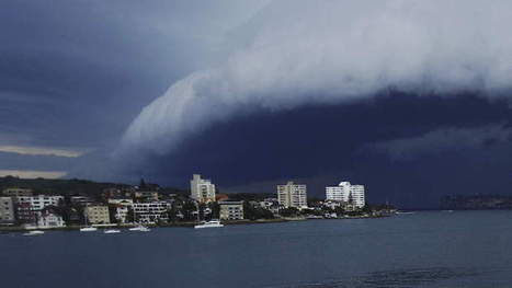 Severe storm rolls over Sydney | Geography in the classroom | Scoop.it