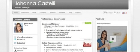 DoYouBuzz : Create an elegant and effective resume for free | Extras | Scoop.it