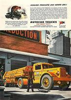 1945 Autocar Trucks, Air Reduction Co. | 1950's | Scoop.it