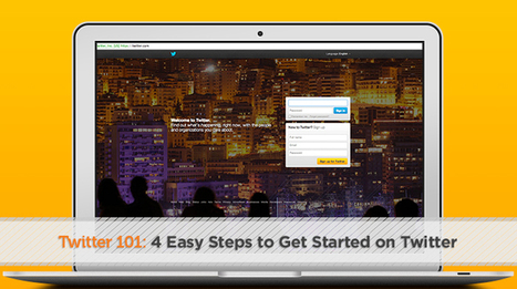 Twitter 101: 4 Easy Steps to Get Started on Twitter - VIEO Design | Online Ministry Updates | Scoop.it