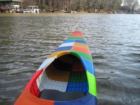 Custom 3D-printed kayak is a homemade work of art - CNET | 3D printing | Scoop.it