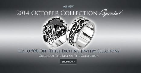 Stainless Steel Jewelry   Stainless Steel Blue Rings   Scoop.it