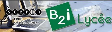 Les cartes mentales du B2i Lycée   TELT   B2I   Scoop.it
