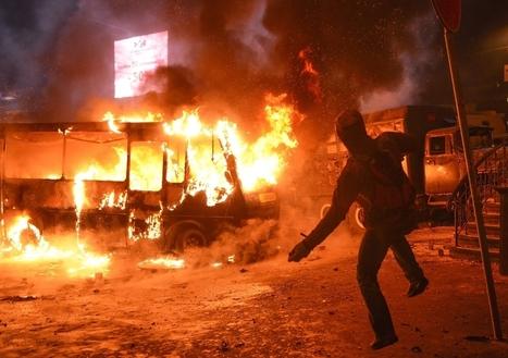 EU en VS eisen recht op vreedzame demonstraties in Oekraïne - De Standaard | MaCuSa | Scoop.it