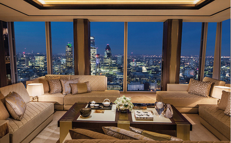 Inside the Shangri-La Suite at the Shard, London | Geography Teaching Ideas | Scoop.it