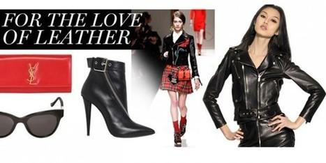 Le giacche in pelle per l'inverno? Nere o rosse ed importanti | fashion and runway - sfilate e moda | Scoop.it