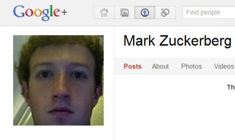 Mark Zuckerberg Reviews Google+ - HarryJerry | SocialNetworks | Scoop.it